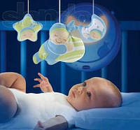 Оригинал. Музыкальный мобиль на кроватку волшебные звезды Chicco 712002