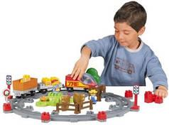 Оригинал. Железная Дорога Сельский Поезд с Людьми Ecoiffier 3163