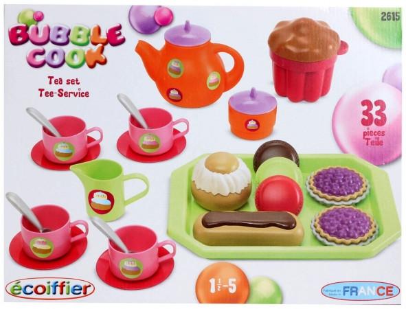 Оригинал. Чайный сервиз игрушечный Ecoiffier 2615
