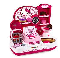 Оригинал. Игровой набор Кассовый Аппарат с аксессуарами Hello Kitty Smoby 24085