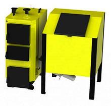 ВСЕЯДНЫЙ промышленный котел на твердом топливе KRONAS BIO MASTER 98 кВт с автоподачей топлива