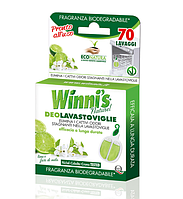 WINNI'S DEOLAVASTOVIGLIE / Гипоаллергенный ароматизатор для посудомоечных машин, 70шт.