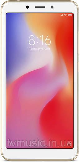 Мобильный телефон Xiaomi Redmi 6 3/64 Gold