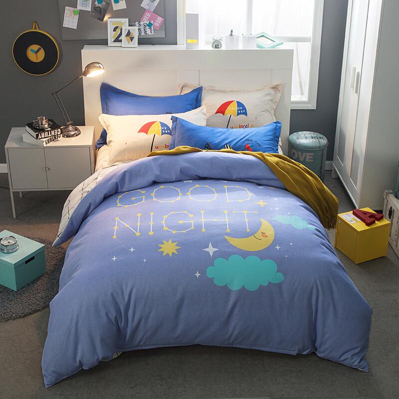 Комплект постельного белья Спокойной ночи (двуспальный-евро) Berni Home