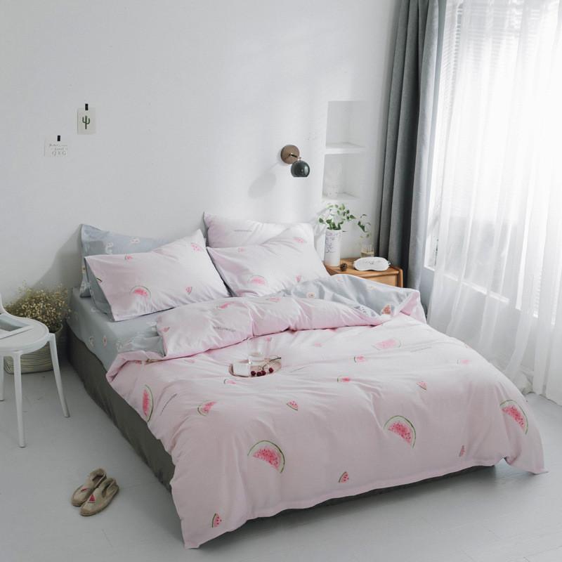 Комплект постельного белья Арбуз (двуспальный-евро) Berni Home