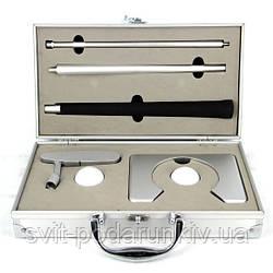 Офисный набор для игры в кабинетный мини гольф в металлическом футляре с клюшкой CX-1005