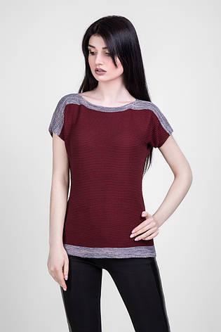 Вязанная футболка-топ 1423 Bellise, фото 2