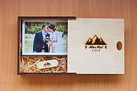 Деревянная подарочная упаковка для фотографий 10*15