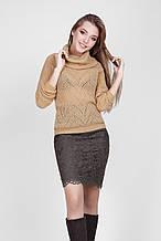 Ажурный вязанный женский красивый свитер от Bellise 44-48
