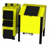 ВСЕЯДНЫЙ промышленный котел на твердом топливе KRONAS BIO MASTER 300 кВт с автоподачей топлива