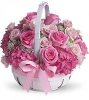 Доставка корзин с цветами Днепропетровск