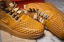 Зимние кроссовки Nike LF1 Duckboot, рыжие (30917) размеры в наличии ► [  42 43 44 45  ], фото 6