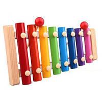Деревянные детские развивающие игрушки Octave Knock On the Piano Beat Xylophone Music Toys Лучший продающий подарок на день рождения - Сосновый