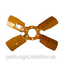 240-1308040-01  Вентилятор металлический четырехлопастной мтз
