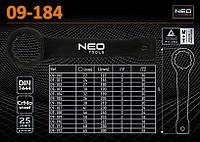 Ключ накидной ударный 32мм., NEO 09-184, фото 1