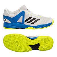 Кросівки Adidas Court Stabil J р. 39.5 (25 см) Білий з блакитним ( 450381ff76bfd