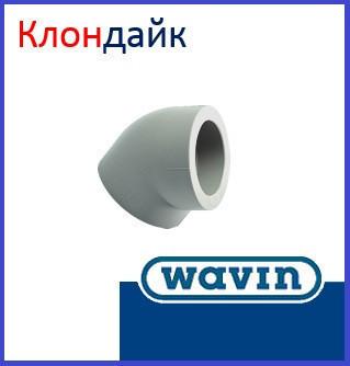 Угол соединительный Wavin 63х45