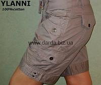 Летние шорты женские с накладными карманами Ylanni 7056