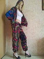 Двусторонний костюм из платка в стиле Матрешка, фото 1