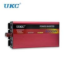 Преобразователь напряжения (Инвертор) UKC 12V-220V 4000W