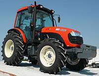 Сельскохозяйственный южнокорейский трактор KIOTI DK904C с кабиной, с кондиционером, мощностью 90 л.с.