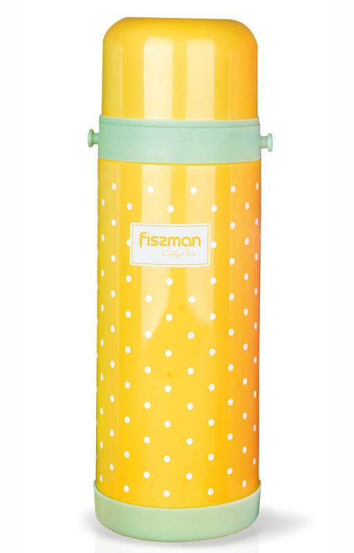 "Термос Fissman ""Cooking area"" 1000мл желтого цвета"