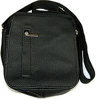 Мужские кожаные сумки через плечо 15х17, фото 1