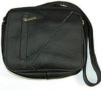 Мужские кожаные сумки через плечо 19х15
