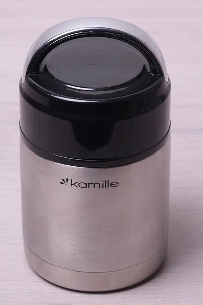 Термос пищевой Kamille Journey 800мл из нержавеющей стали