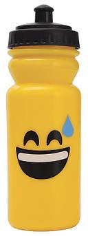 Бутылка для воды Emoticonworld Happy 600мл, пластик