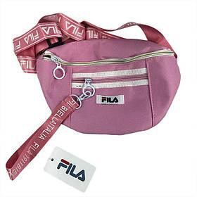 Поясная сумка (Бананка) МК-1143 розовая