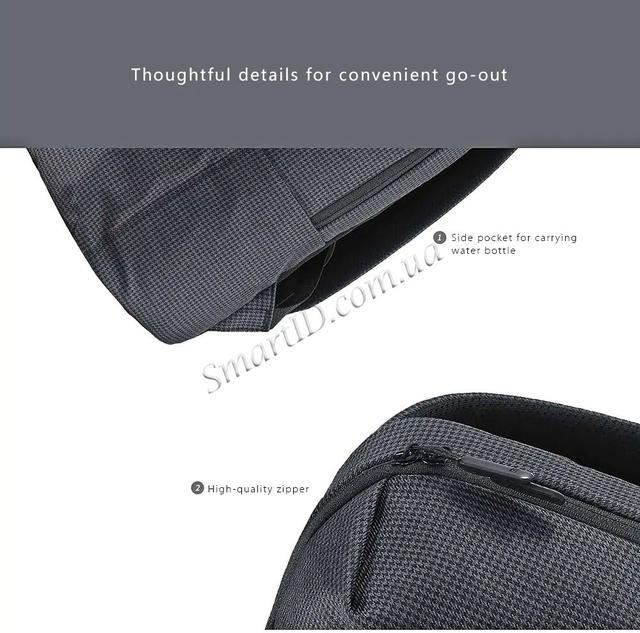 Рюкзак Xiaomi College Style Leisure Backpack 20L Черный - Black