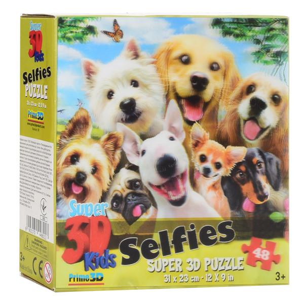 Пазлы с эффектом 3D на 48 деталей (Собаки), 13535