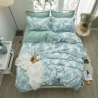Комплект постельного белья Тропическая листва (полуторный) Berni