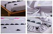 Простынь на резинке Спящая звездочка 120x200+25 см Berni, фото 2