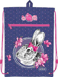 Сумка для обуви с карманом Kite Education 601M-3 Fluffy bunn K19-601M-3 ранец  рюкзак школьный hfytw ranec