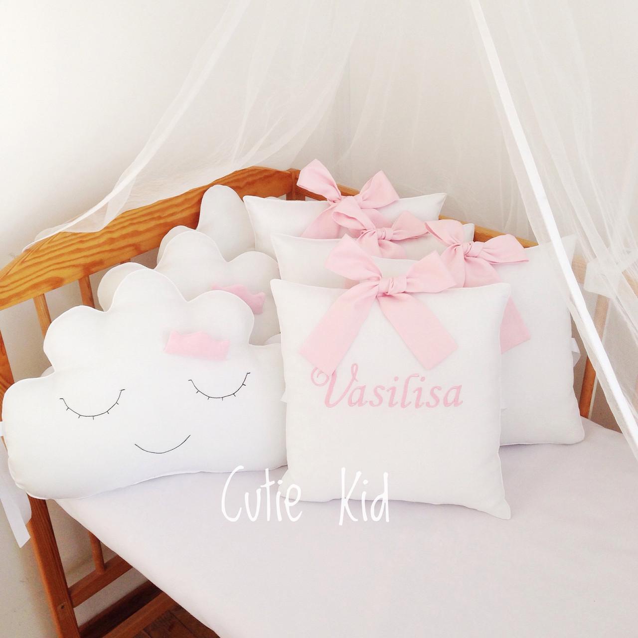 Бортики в детскую кроватку, Защита в детскую кроватку, Бампер в кроватку, К-02