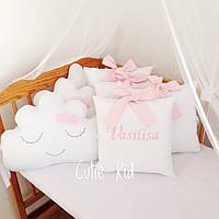 Бортики в детскую кроватку, Защита в детскую кроватку, Бампер в кроватку, К-02, фото 1