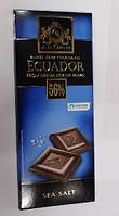 Шoколад горький J.D. Gross Ecuador 56% какао, Sea Salt, 125 г (Германия)