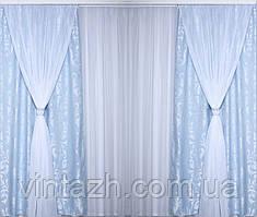 Плотные шторы для гостинной модные