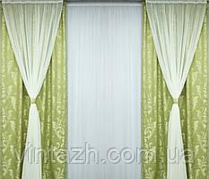 Модный комплект  готовых штор