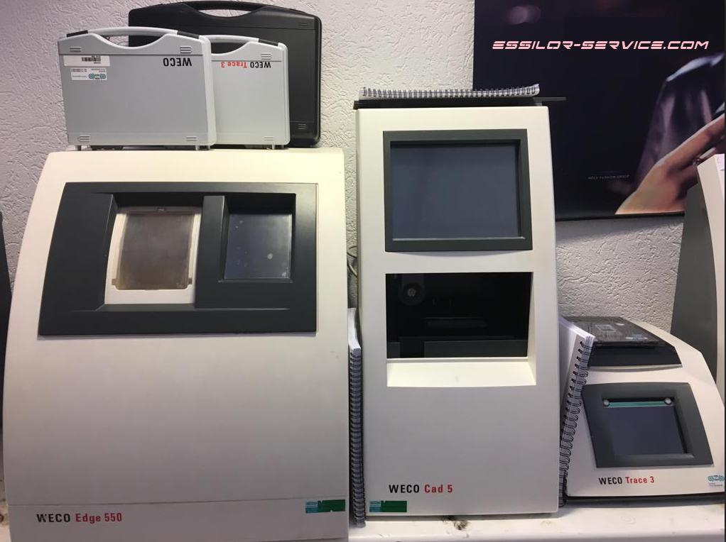 Станки для обработки линз Weco 550 Edger