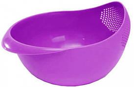 Миска для мытья фруктов ,, риса и овощей Best Kitchen,Миска 22 см