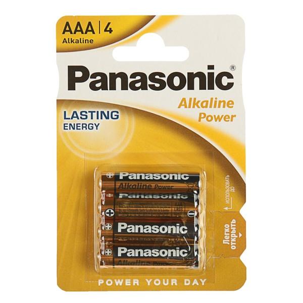 Батарейки Panasoniс Alkaline LR3 щелочные комплект 4 шт