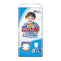 Трусики-подгузники GOO.N для мальчиков 12-20 кг (размер Big (XL), 38 шт.) ТМ Goo.N 853629