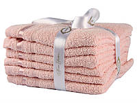 Набор полотенец,махра,30*50*6,320048