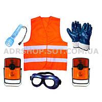 ADR-комплект для опасных грузов, которые обозначаются знаками опасности № 1, 1.4, 1.5, 1.6, 2.1 или 2.2