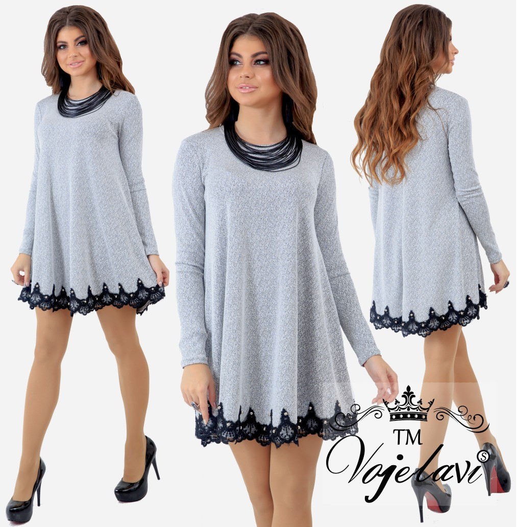 a61ea5254c8 Стильное платье (размеры 42-46) 0136-22  продажа