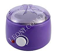 Баночный воскоплав Konsung beauty 400 мл фиолетового цвета