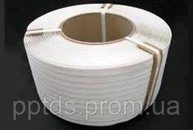 Лента упаковочная п/п 16х0,8 (1,5км) белая. - ПП «ТДС» в Херсоне